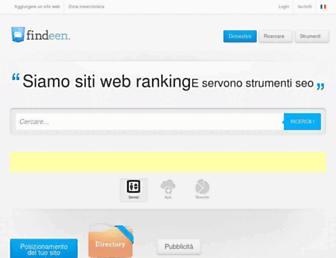 it.findeen.com screenshot