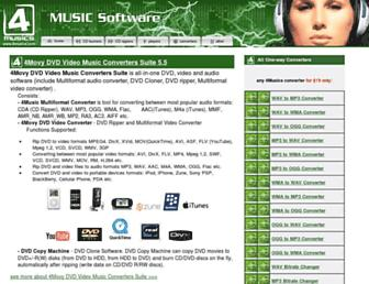 4musics.com screenshot
