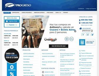 Thumbshot of Progreso.com.do