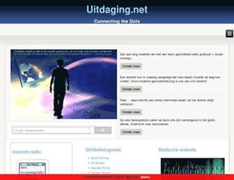 Main page screenshot of uitdaging.net