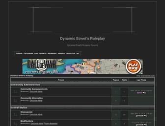dynamicstreets.american-forum.net screenshot