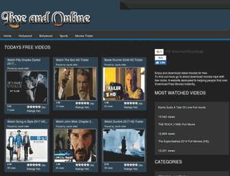 liveandonline.net screenshot