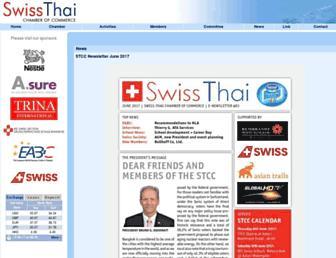 swissthai.com screenshot
