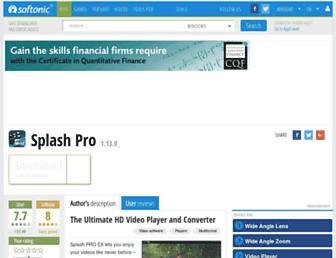 splash-pro.en.softonic.com screenshot