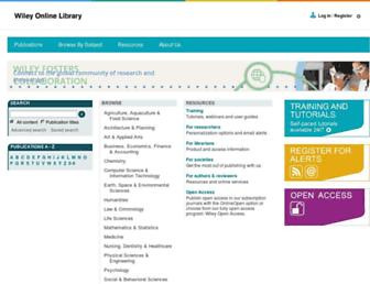 onlinelibrary.wiley.com screenshot