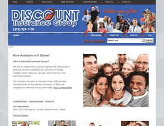 discountinsurancegroup.com screenshot
