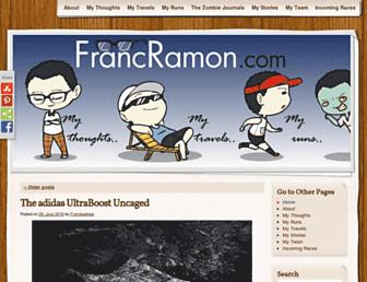 Thumbshot of Francramon.com