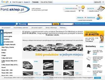 ford.sklep.pl screenshot