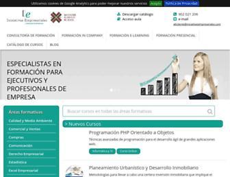 iniciativasempresariales.com screenshot