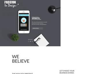 passionindesign.com screenshot