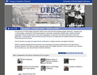 ufdc.ufl.edu screenshot