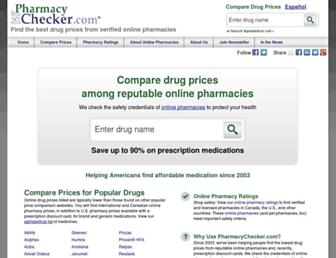 Thumbshot of Pharmacychecker.com