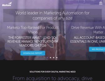 uk.marketo.com screenshot