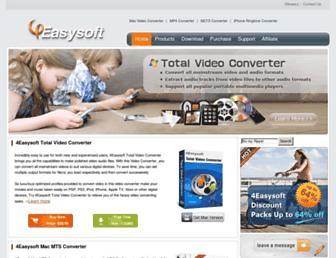 4easysoft.com screenshot