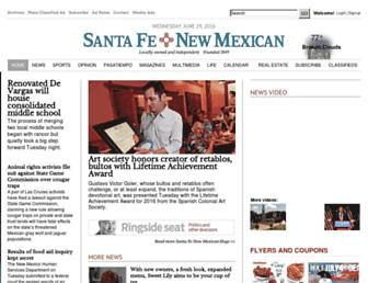 Thumbshot of Santafenewmexican.com