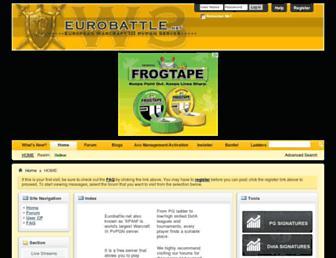 eurobattle.net screenshot