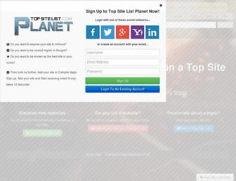 Thumbshot of Top-site-list.com