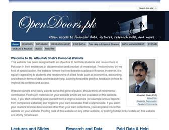 opendoors.pk screenshot