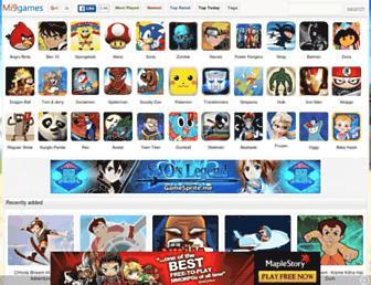 games.mi9.com screenshot