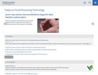 Thumbshot of Foodprocessing-technology.com