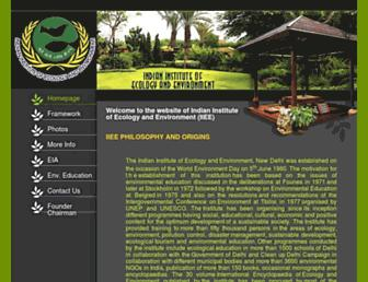 ecology.edu screenshot