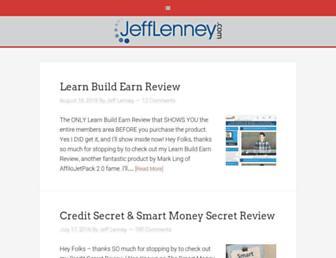 jefflenney.com screenshot