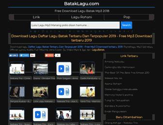 bataklagu.com screenshot