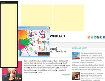 davidguettasongsfreedownload.blogspot.com screenshot