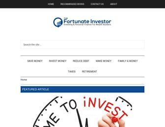 fortunateinvestor.com screenshot