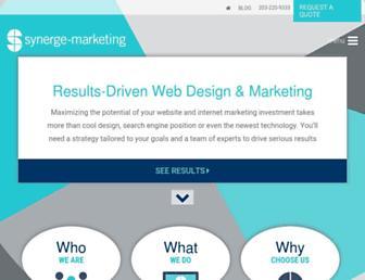 synergemarketing.com screenshot