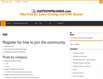 dxfdownloads.com screenshot