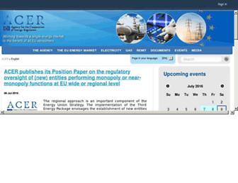 acer.europa.eu screenshot