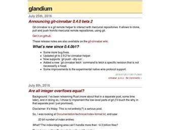 glandium.org screenshot