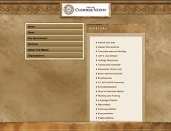 Thumbshot of Cherokee.org