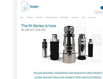 bulgin.com screenshot