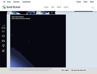 safran-group.com screenshot
