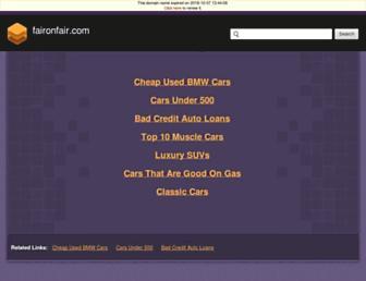 faironfair.com screenshot