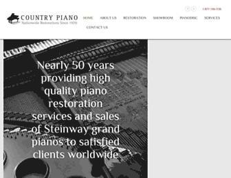 countrypiano.com screenshot