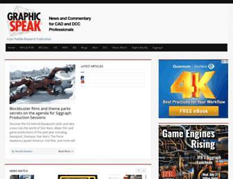 gfxspeak.com screenshot