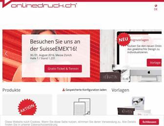 Thumbshot of Onlinedruck.ch