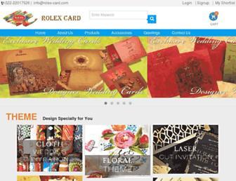 rolex-card.com screenshot