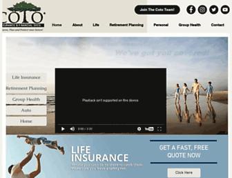 cotoinsurance.com screenshot