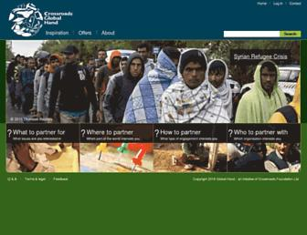 globalhand.org screenshot
