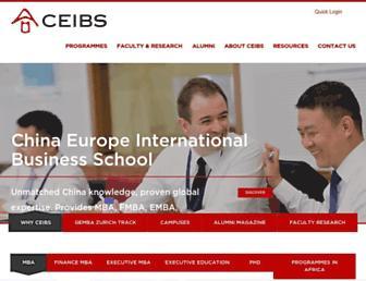 Thumbshot of Ceibs.edu