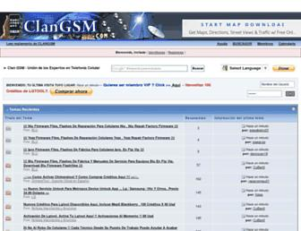 clangsm.com screenshot