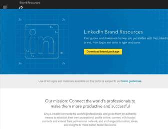 brand.linkedin.com screenshot