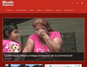 mundohispanico.com screenshot