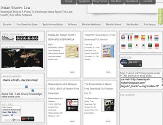 irwansyah-hukum.blogspot.com screenshot