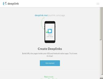 Thumbshot of Deeplink.me
