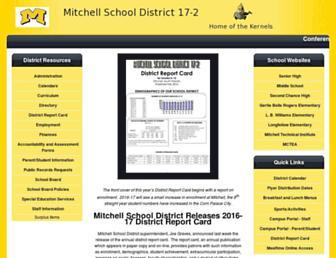 mitchell.k12.sd.us screenshot